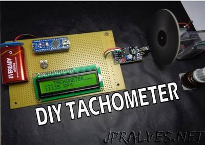 How to Make Arduino Based Digital Tachometer Simple DIY Tutorial