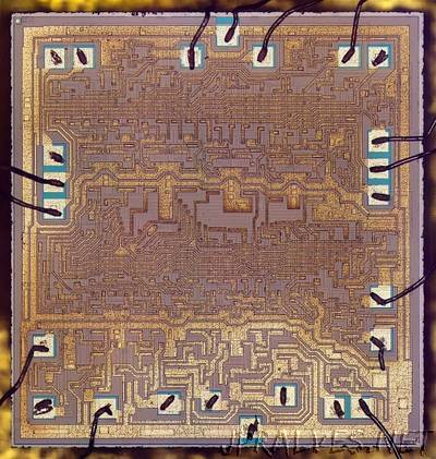 Inside the vintage 74181 ALU chip: how it works and why it's so strange