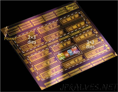 Microprocessors based on a layer of just three atoms