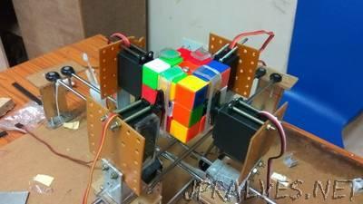 Rubics Cube Solver Bot