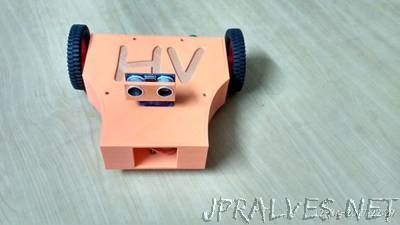 Fully 3D Printed Arduino Robot