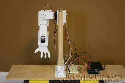 Robot Servo With Idle Horn
