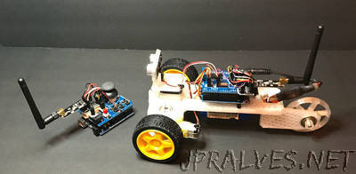 A Printed Three-wheeled Smart Car Kit
