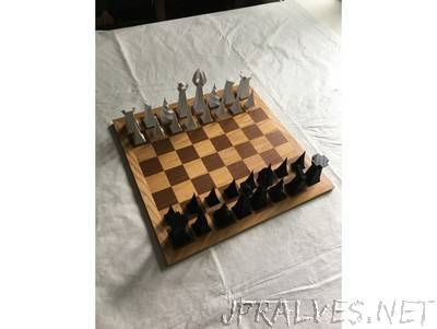 Parabolic Chess Set