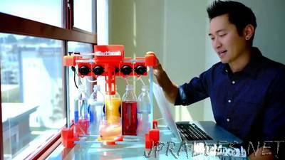 Build your very own drink mixing robot!
