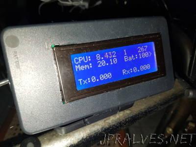 Computer Monitor Using Arduino and Node JS