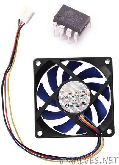 Arduino ATtiny Fan or Any DC Motor PWM Speed Controller - jpralves net