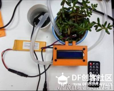 How to Make a 3D Printed Automatic Plant Watering System
