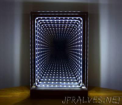 Modern Led Infinity Mirror Table Lamp. U201c