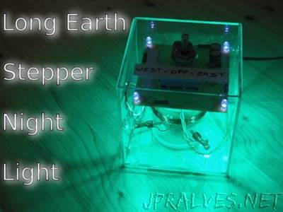 """Long Earth"" Stepper Night Light"