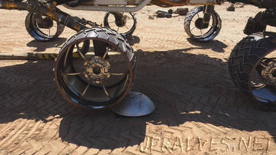 An Algorithm Helps Protect Mars Curiosity's Wheels