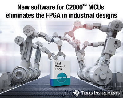 New MCU software eliminates an FPGA to achieve a sub-1 microsecond current loop in industrial systems