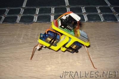 ATtiny85 Robot Insect V2.0