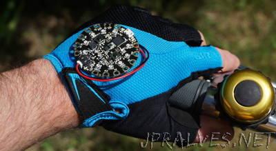 Circuit Playground Bike Glove