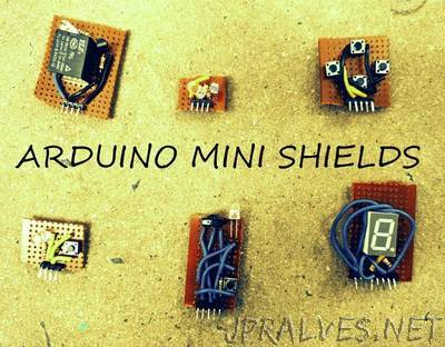 Arduino Mini Shields Construction