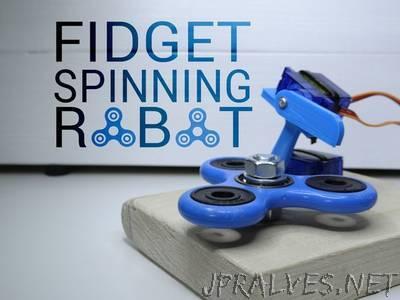 Fidget Spinning Robot