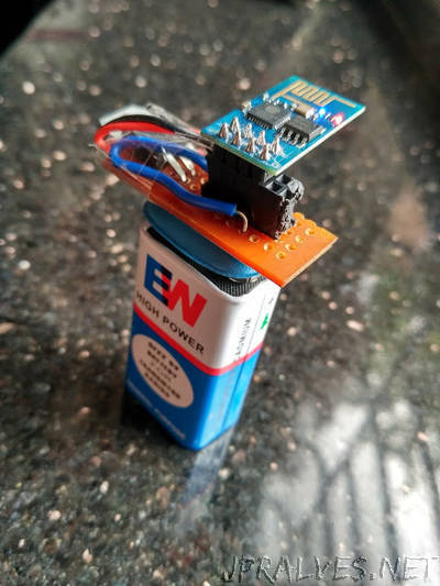 ESP8266: Super compact WiFi Snipper for DeAuth attack