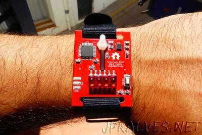 Solr: digital wrist watch