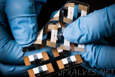 High-precision control of printed electronics