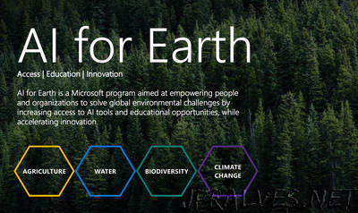 Announcing AI for Earth: Microsoft's new program to put AI to work for the future of our planet