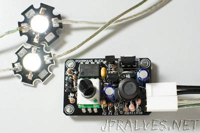 Simple Buck LED Driver With PWM Input