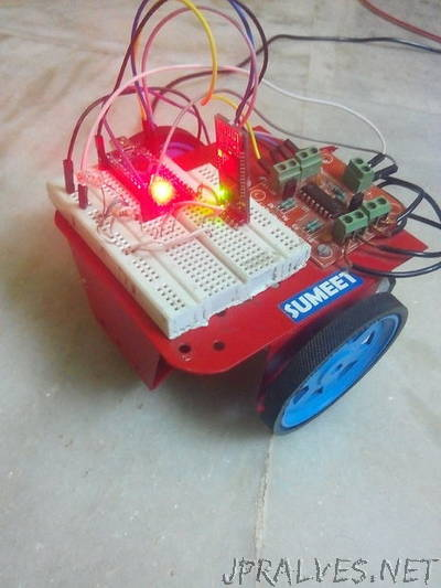 Voice Controlled Bluetooth Car