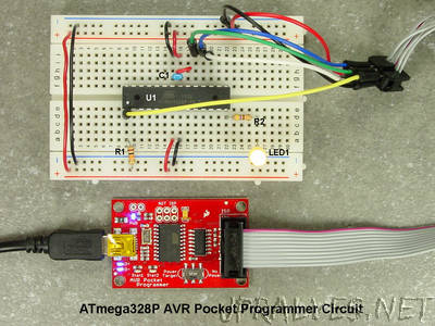 Breadboarding and Programming the ATmega328P & ATtiny45 in Atmel Studio 7