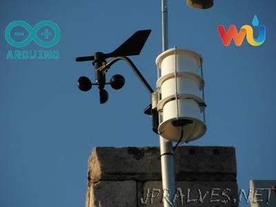 Arduino Uno Wireless Weather Station