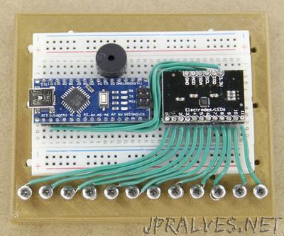 Easy DIY Arduino Touch Sensor Piano