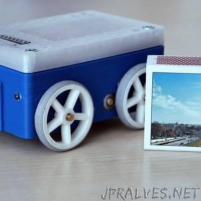Mini WiFi/BLE 4WD robot platform