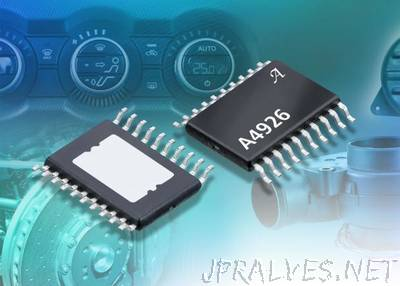 Allegro MicroSystems, LLC Announces New Automotive, Half-bridge MOSFET Driver ICs