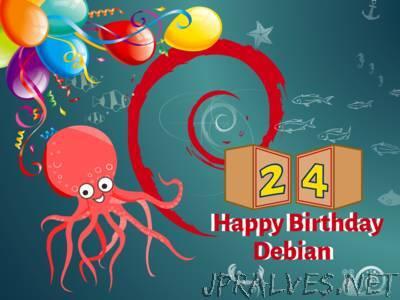 Debian turns 24!