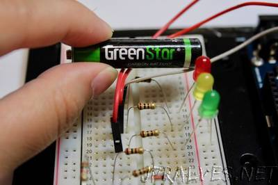 DIY Battery Level Checker