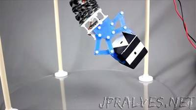 Case Western Reserve University researchers design soft, flexible origami-inspired robot
