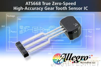Allegro MicroSystems, LLC Announces a new Three-Wire Differential Speed Sensor Integrated Circuit