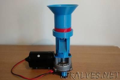 3D Printed Coffee Grinder