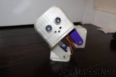 Billy the Biped Robot - 3D Printed