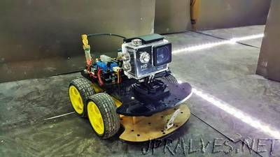 Bluetooth Controlled Vehicle With WiFi Camera