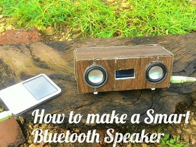 DIY Smart Bluetooth Speakers With Spectrum Analyser