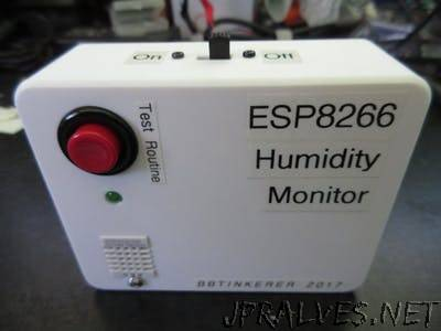 Storage Bin Humidity Monitor
