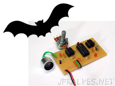 Building a Circuit to Detect High Frequencies: The Bat Detector!