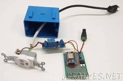 Wi-Fi IoT Electrical Outlet: Turning on a Coffee Maker Remotely