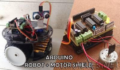 DIY Multi-Purpose Robot Base and Motor Shield