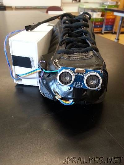 Vision Shoe (Shoe for the Blind)