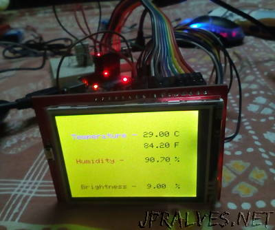 LCD Weather Monitor
