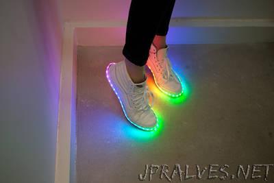 DIY Light-Up Kicks