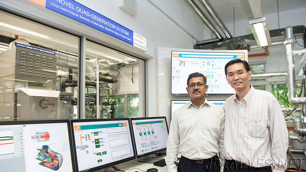 NUS researchers develop 4-in-1 smart utilities plant custom-made for tropical climate
