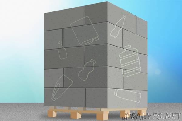 MIT students fortify concrete by adding recycled plastic