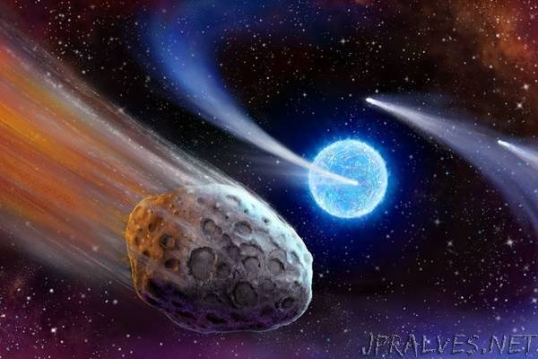 Scientists detect comets outside our solar system