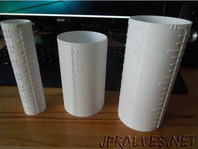Customizable Measuring Cylinder